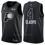 Camiseta All Star 2018 Indiana Pacers Victor Oladipo #4 Negro