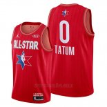 Camiseta All Star 2020 Boston Celtics Jayson Tatum #0 Rojo