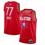 Camiseta All Star 2020 Dallas Mavericks Luka Doncic #77 Rojo
