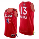 Camiseta All Star 2020 Western Conference James Harden #13 Rojo