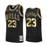 Camiseta Chicago Bulls Michael Jordan #23 1998 NBA Fianls Retro Negro