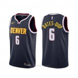 Camiseta Denver Nuggets Keita Bates-Diop #6 Icon Azul