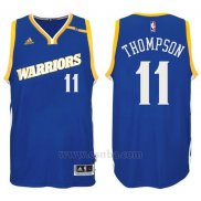 Camiseta Golden State Warriors Klay Thompson #11 Azul