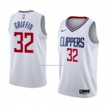 Camiseta Los Angeles Clippers Blake Griffin #32 Association 2018 Blanco