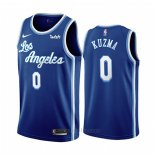 Camiseta Los Angeles Lakers Kyle Kuzma #0 Classic 2019-20 Azul