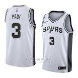 Camiseta San Antonio Spurs Brandon Paul #3 Association 2018 Blanco