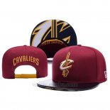 Gorra Cleveland Cavaliers Leather Rojo