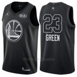 Camiseta All Star 2018 Golden State Warriors Draymond Green #23 Negro