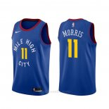 Camiseta Denver Nuggets Monte Morris #11 Statement Azul