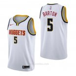 Camiseta Denver Nuggets Will Barton #5 Association Blanco