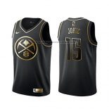 Camiseta Golden Edition Denver Nuggets Nikola Jokic Negro