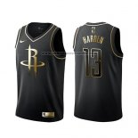 Camiseta Golden Edition Houston Rockets James Harden Negro