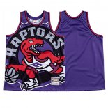 Camiseta Toronto Raptors Mitchell & Ness Big Face Violeta