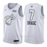 Camiseta All Star 2018 Miami Heat Goran Dragic #7 Blanco