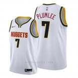 Camiseta Denver Nuggets Mason Plumlee #7 Association 2019-20 Blanco
