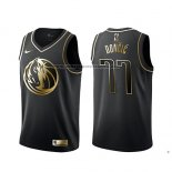 Camiseta Golden Edition Dallas Mavericks Luka Doncic Negro