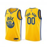 Camiseta Golden State Warriors Personalizada Statement 2019-20 Oro