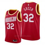 Camiseta Houston Rockets Jeff Green #32 Classic 2019-20 Rojo
