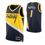Camiseta Indiana Pacers T.j. Mcconnell #9 Statement Edition Amarillo