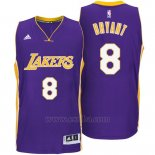 Camiseta Los Angeles Lakers Kobe Bryant #8 Violeta