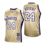 Camiseta Los Angeles Lakers LeBron James #24 Hardwood Classics Hall Of Fame 2020 Oro