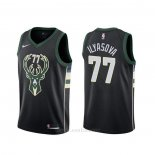 Camiseta Milwaukee Bucks Ersan Ilyasova #77 Statement Negro