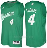 Camiseta Navidad 2016 Boston Celtics Isaiah Thomas #4 Veder