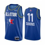 Camiseta All Star 2020 Indiana Pacers Domantas Sabonis #11 Azul