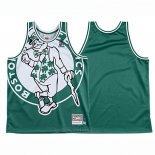 Camiseta Boston Celtics Mitchell & Ness Big Face Verde