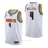 Camiseta Denver Nuggets Paul Millsap #4 Association Blanco