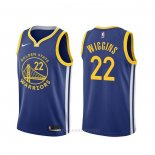Camiseta Golden State Warriors Andrew Wiggins #22 Icon Azul