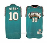 Camiseta Historic Retro Vancouver Grizzlies Mike Bibby #10 Verde