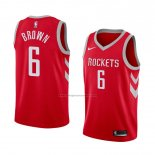 Camiseta Houston Rockets Bobby Marron #6 Icon 2018 Rojo