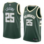 Camiseta Milwaukee Bucks Deandre Liggins #25 Icon 2018 Verde