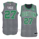 Camiseta Navidad 2018 Boston Celtics Daniel Theis #27 Verde