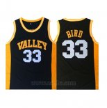 Camiseta Valley Larry Bird #33 Negro