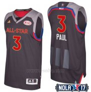 Camiseta All Star 2017 Los Angeles Clippers Chris Paul #3 Negro