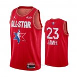 Camiseta All Star 2020 Los Angeles Lakers LeBron James #23 Rojo