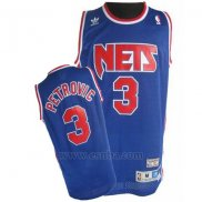 Camiseta Brooklyn Nets Drazen Petrovic #5 Retro Azul