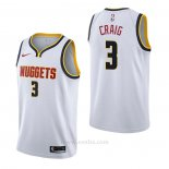 Camiseta Denver Nuggets Torrey Craig #3 Association Blanco