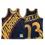 Camiseta Golden State Warriors Draymond Green #23 Mitchell & Ness Big Face Azul