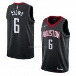 Camiseta Houston Rockets Bobby Marron #6 Statement 2018 Negro