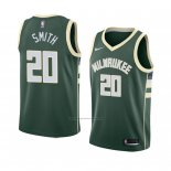 Camiseta Milwaukee Bucks Jason Smith #20 Icon 2018 Verde