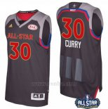 Camiseta All Star 2017 Golden State Warriors Stephen Curry #30 Negro