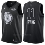 Camiseta All Star 2018 Boston Celtics Kyrie Irving #11 Negro