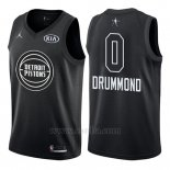 Camiseta All Star 2018 Detroit Pistons Andre Drummond #0 Negro