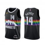Camiseta Denver Nuggets Gary Harris #14 Ciudad 2019-20 Negro