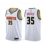 Camiseta Denver Nuggets P.j. Dozier #35 Association Blanco