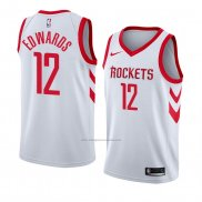 Camiseta Houston Rockets Vincent Edwards #12 Association 2018 Blanco