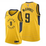 Camiseta Indiana Pacers T.j. Mcconnell #9 Earned 2019-20 Blanco
